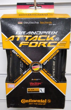 Pneu 700x22/24 Continental Grand Prix Attack e Force Par