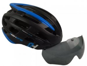 Capacete High One Casco Com Oculos e Pisca