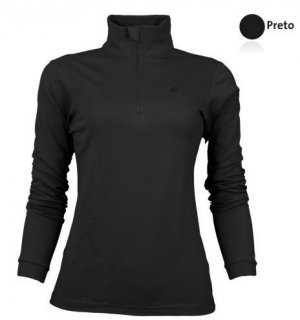 Blusa Solo X Thermo Ds Zip Lady Feminina