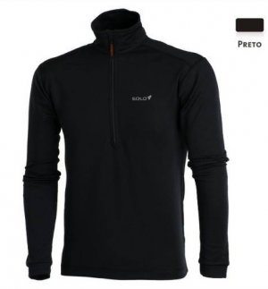 Blusa Solo X Thermo Ds Zip Masculina