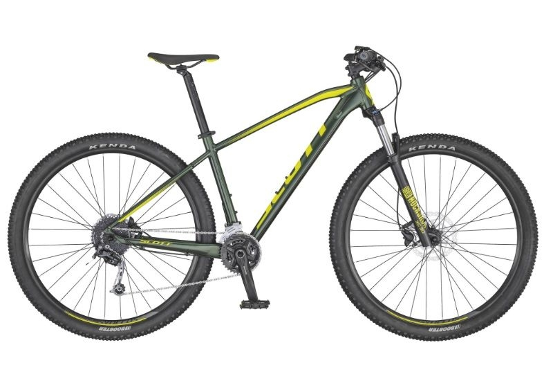 Bicicleta Scott Aspect 930 Dk.green/yellow