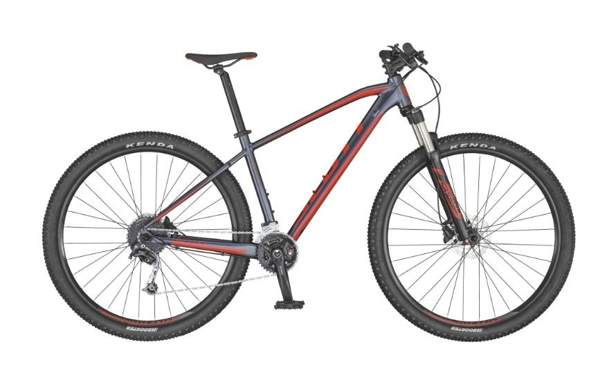 Bicicleta Scott Aspect 940 Dk.grey/red