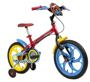 Bicicleta Caloi 16 Hot Wheels 2020