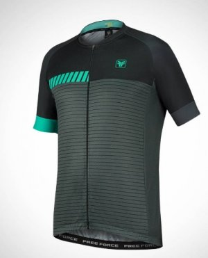 Camisa Free Force Sport Pace Pto/cinza