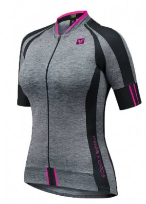 Camisa Free Force Training Mixed Mescla/preto Feminina
